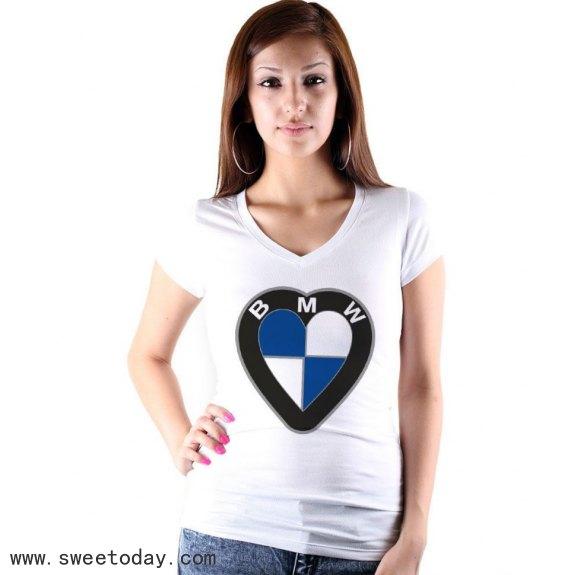 002 BMW Love I Love BMW Fun T-Shirt